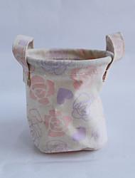 nouvelle fleur coton fleuri et une poche de linge
