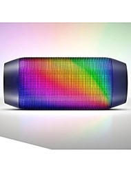 altavoces inalámbricos Bluetooth 2.1 CH Portable Al Aire Libre Mini Luz LED