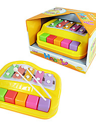 Yellow Happy Kids Organ Musical Instrument Xylophone Toy