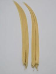 """18 """"cabello humano 100strand extensión del pelo micro anillo / 100g"""