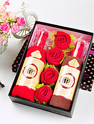 Wine and Roses Cake Towel Box