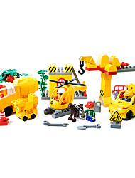 Engineering Construction Scene BuildingBlock 9667Large Granular Bricks 85 PCS of Toys in Kindergarten Teaching Aids