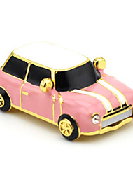 YOUWO Metal Keychain With Cartoon Car Styling 16GB USB Pink Light Blue Red Blue SP0017801