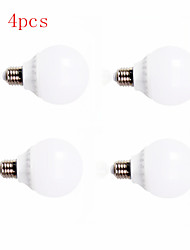 4pcs HRY® 5W E27 12XSMD5630 400LM LED Globe Bulbs LED Light Bulbs(220V)