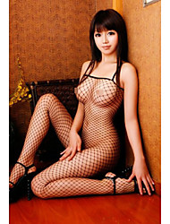 Hosiery Nylon/Spandex Fishnet Black