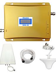 lintratek 2g dcs 900MHz repetidor de sinal GSM 1800MHz telefone celular impulsionador gsm amplificador de sinal celular dual band kits
