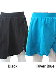 Cotton/Lycra Dance Wrap Skirts More Colors for Girls and Ladies
