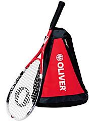 Las raquetas de tenis ( Rojo , Fibra de Carbono ) - Impermeable/Buena aerodinámica/Alta elasticidad/Durabilidad
