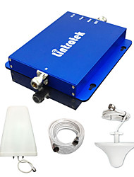 Lintratek 2G 3G Cell Phone Booster GSM 850MHz 1900MHz Dual Band Signal Repeater CDMA PCS UMTS Amplifier Full Kits