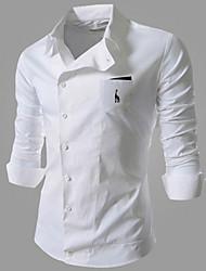Chemises informelles ( Coton Manches longues pour Homme
