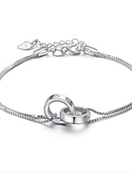Women's 925 silver bracelet high quality type(single)