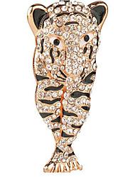 Tiger Rhinestone Wedding Keychain Favor