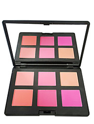 Red&Black 6 Colors Supercolor Blush Professional Silky Powder 30g