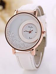 las mujeres visten Koshi relojes 2015 del estilo del verano 7 colores de alta calidad de la moda las mujeres arenas movedizas reloj de