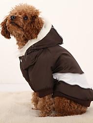 Pawz Road Pet Clothes Dog Coats Winter Warm Coat 4 Colors 4 Sizes Puppy Small Dog