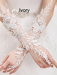 Silk Wrist Length Wedding/Party Glove