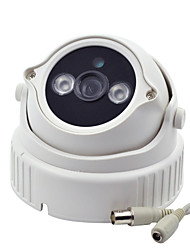 "Security CCTV Camera 1/3"" CMOS HD 1000TVL IR-CUT Night Vision Indoor Surveillance Array 2LED ICR Home Camera"