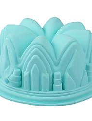 Molde de pastel de silicona platino 9 pulgadas