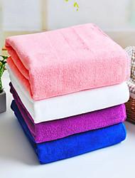 Blue/Pink/Purple/White 100% Micro Fiber Bath Towel Bath Towel/Beach Towel/Bath Sheet Soft Well  Quick Dry