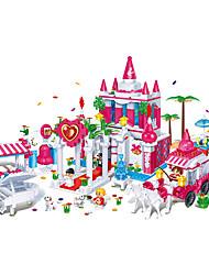 banbao blocs assemblés jouet toy briques de mariage 1128 pcs de modèle éducatif des enfants