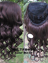 22inch Long wave Synthetic Wig 3/4 Wig Heat Resistance Half Wig