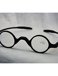 [Free Lenses] Retro Round Full-Rim Geek Reading Glasses