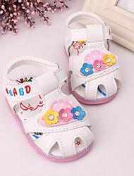 Baby Shoes - Tempo libero / Formale / Casual - Sandali - Finta pelle - Rosa / Rosso / Bianco