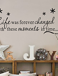 família rir amor decalque de parede ao vivo zy8175 decorativo Adesivo de Parede de vinil adesivo de parede removível