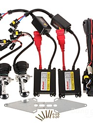 H4 35W 6000K HID Xenon Lights with DC 12V 35W Ballasts Kit