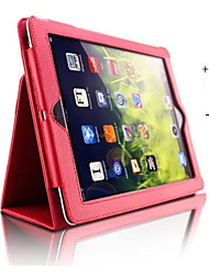 PU leather bracket cover case back insertion smart Dormancy protection sleeve For iPad 234 +Screen Protector+ Stylus