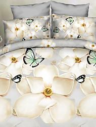 lai de criativos 3 d cama moda quatro sentimentos amorosos elegantes de Cosette