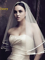 Classic Wedding Dress Accessories European Contracted Satin Veil Elegant And Also Can do The Veil Exports