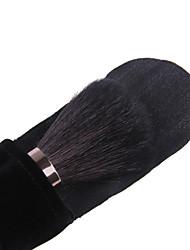 lashining escova de pó grande profissional para o presente rosto beleza ferramenta maquiagem uma flanela preta