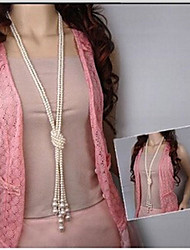 New Arrival Fashional Hot Selling Fresh Popular Double Pearl Necklace