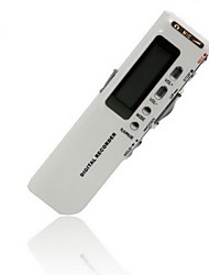 518 Digital Voice Recorder Dictaphone Voice Recorder 8GB Brand New Voice Activated 8GB Mp3 Player