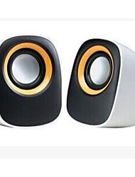 Allspark ® мини мультимедиа акустическая система (синий / желтый)