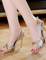 Stiletto - High (3 Zoll und mehr) - Damenschuhe - Sandalen ( PU