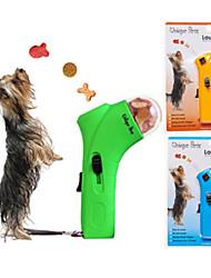 pet cane trattare lanciatore gatto petz unica delizia divertimento interattivo launcher (colore casuale)