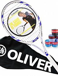 Las raquetas de tenis ( Gris , Aleación de aluminio y carbono ) - Impermeable/Buena aerodinámica/Alta elasticidad/Durabilidad