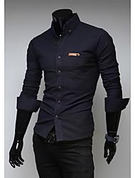 Chemises informelles ( Coton Manches longues