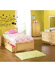 Wandtattoos Wurf stern Zitat Wandkunst zy8064 diy dekorative Schlafzimmer abnehmbare Vinyl-Wandaufkleber