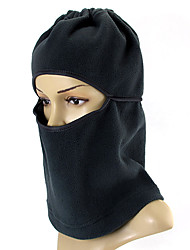 ZIQIAO Multifunction Fleece Black Balaclava Hood SWAT Ski Mask