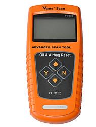 2015 Vgate scanner automobile de détecteur de défaut de voiture de l'outil de réinitialisation service de l'huile vs900 d'airbag