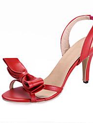 Women's Shoes Kitten Heel Heels/Open Toe Sandals Outdoor/Office & Career/Casual Multi-color