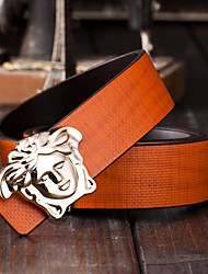 Men Wide Belt , Vintage/Party/Work/Casual Alloy/Leather