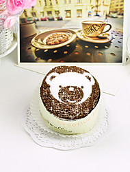 Chocolate Bear Cake Towel Box (Set of 2)