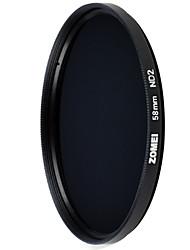 zomei 58 milímetros ND2 1 paragem nd densidade neutra filme digital de filtro da lente da câmera