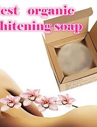 Whitening Skin Lighten Face Knee Hips Foot Natural Active Crystal Soap 40g