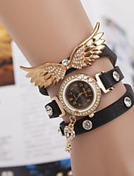 Angel Wings Bracelet Watch Three Winding Watch
