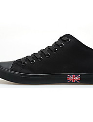 Men's Shoes Casual Canvas Fashion Sneakers Black/Blue/Red/White